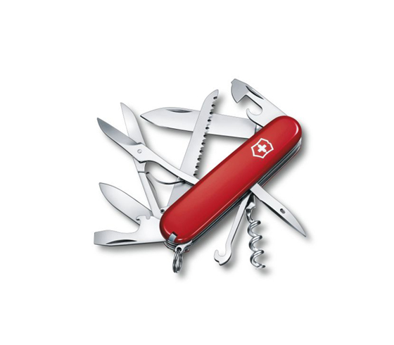 Huntsman 77 Victorinox Huntsman Pocket Knife In Red 53201